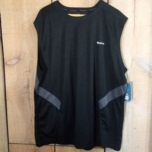 Reebok Men's Hydromove Sleeveless Shirt Reflective